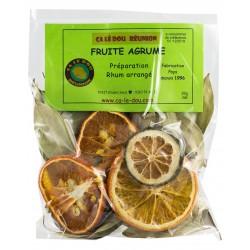 Préparation Rhum Arrangé Fruité Agrume